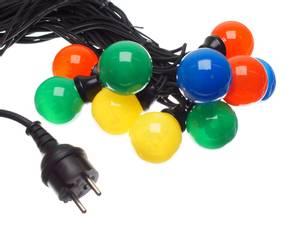 Bilde av Festival farget LED lyskjede,