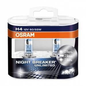 Bilde av H4 Osram Night breaker